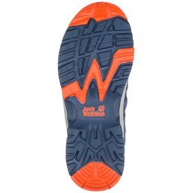 Jack Wolfskin Thunderbolt Texapore Matalat Kengät Lapset, blue/orange